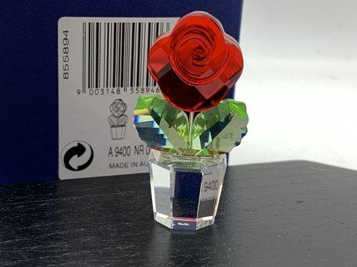 Swarovski Figur 855894 Blume Blumentopf 5 Cm Mit Ovp